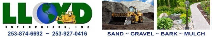 Lloyd Enterprises | Sand | Gravel | Bark | Mulch