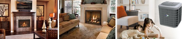 Heating & Fireplace | Heating & Cooling | Fireplaces