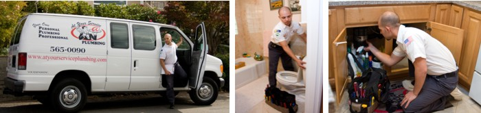At Your Service Plumbing | Plumber | University Place | Tacoma