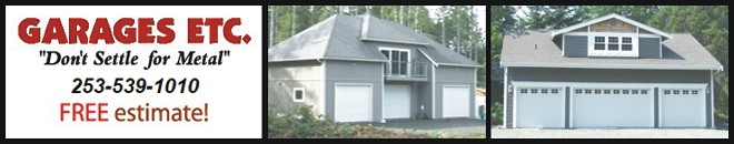 Garages Etc | Single, Multi-car, RV Garages | Workshops | Seattle, Tacoma WA