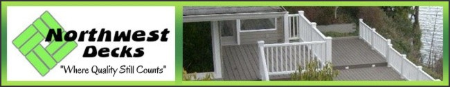 Northwest Decks | Quality Decks | Patios | Port Orchard WA | Gig Harbor WA