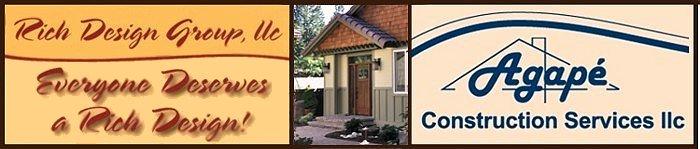 Rich Design Group Agape Construction Design Build Remodeling - Bathroom remodeling kent wa