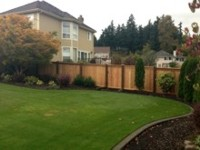Backyard Privacy Fence by Archterra Landscaping