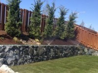 Fence & Retaining Wall by Archterra Landscaping